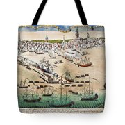 British Landing, 1768 Tote Bag
