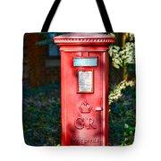 British Mail Box Tote Bag