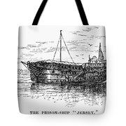 British Prison Ship, 1770s Tote Bag