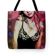 Britney - Pretty In Pink Tote Bag