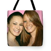 Brittany And Nicole Nutting Tote Bag