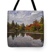Broad Skies And Fall Colors Tote Bag