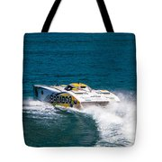 Broadco From Behind Tote Bag