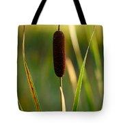 Broadleaf Cattail Tote Bag