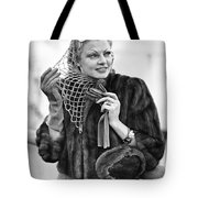 Broadway Actress Claire Luce Tote Bag