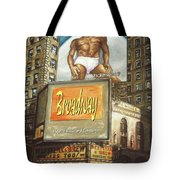 Broadway Billboards - New York Art Tote Bag