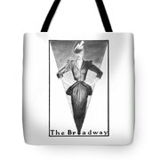 Broadway Dame Tote Bag by Sarah Parks