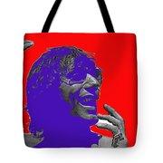 Broadway Joe Namath Telling Football Story C.c. And Co. Set  Tucson Arizona 1970-2012 Tote Bag