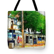 Broadway Oyster Bar With A Boost Tote Bag