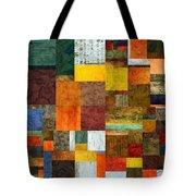 Brocade Color Collage 1.0 Tote Bag
