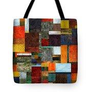 Brocade Color Collage 2.0 Tote Bag