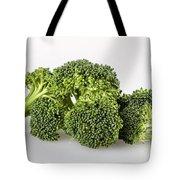 Broccoli Isolated Tote Bag