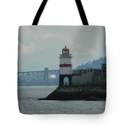 Brockton Point Lighthouse Tote Bag