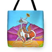 The Cowboy From Darby Tote Bag
