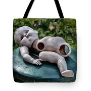 Broken Baby Doll Tote Bag