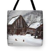Broken Barn Tote Bag