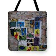 Broken Collage Tote Bag