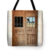 Broken Door Tote Bag