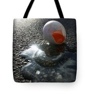 Broken Egg Tote Bag by Matthias Hauser