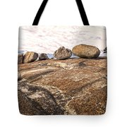 Broken Glacial Erratics Tote Bag