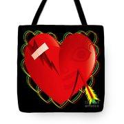 Broken Heart Mended Tote Bag