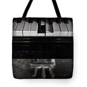 Broken Key Tote Bag