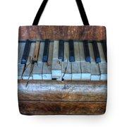 Broken Keys Tote Bag