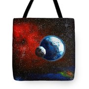 Broken Moon Tote Bag