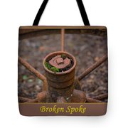 Broken Spoke Tote Bag