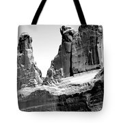 Broken Wall Bw Tote Bag