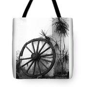 Broken Wheel Tote Bag