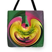 Bromiliad Abstract Tote Bag