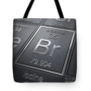 Bromine Chemical Element Tote Bag