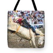 Bronc Rider 001 Tote Bag