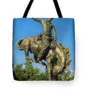 Bronco Buster - Denver Tote Bag
