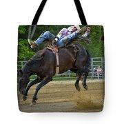 Bronco Cowboy Tote Bag