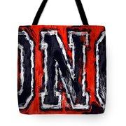 Broncos Tote Bag by David G Paul