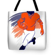 Broncos Shadow Player2 Tote Bag