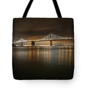 Bronze And Gold Tote Bag