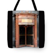 Bronze Doors Tote Bag