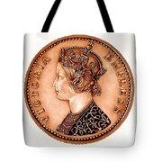 Bronze Empress Victoria Tote Bag