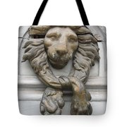 Bronze Lion Tote Bag