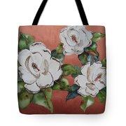 Bronze Magnolia Tote Bag