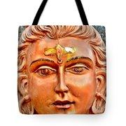 Bronze Shiva Statue - Uttarkashi India Tote Bag