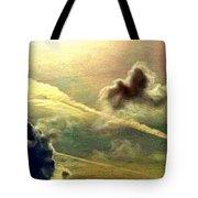 Bronzed Clouds - Vertical Tote Bag