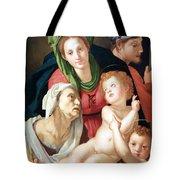 Bronzino's The Holy Family Tote Bag