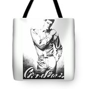 Brooding Man Tote Bag by Sarah Parks
