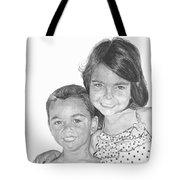 Brooke And Carter Tote Bag