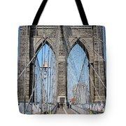 Brooklin Bridge Tote Bag