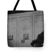 Brooklyn Battery Tunnel In Black And White Tote Bag